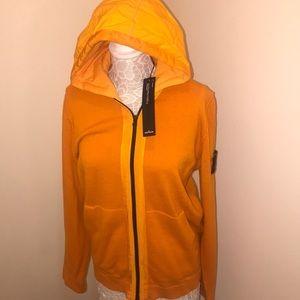 NWT Men's STONE ISLAND Zip Up Cardigan XL